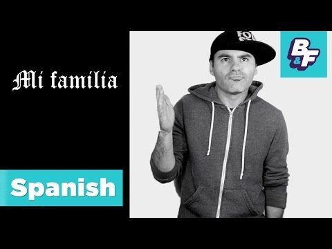 Best for kids who are not beginners in Spanish  Learn family members in Spanish with BASHO & FRIENDS [Viewer's Choice] - YouTube