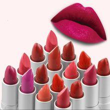 Marca Batom Maquiagem Beleza Para As Mulheres Rosa Bebê Lábios Mate Bálsamo Batom À Prova D' Água Senhoras Dom Cosméticos alishoppbrasil