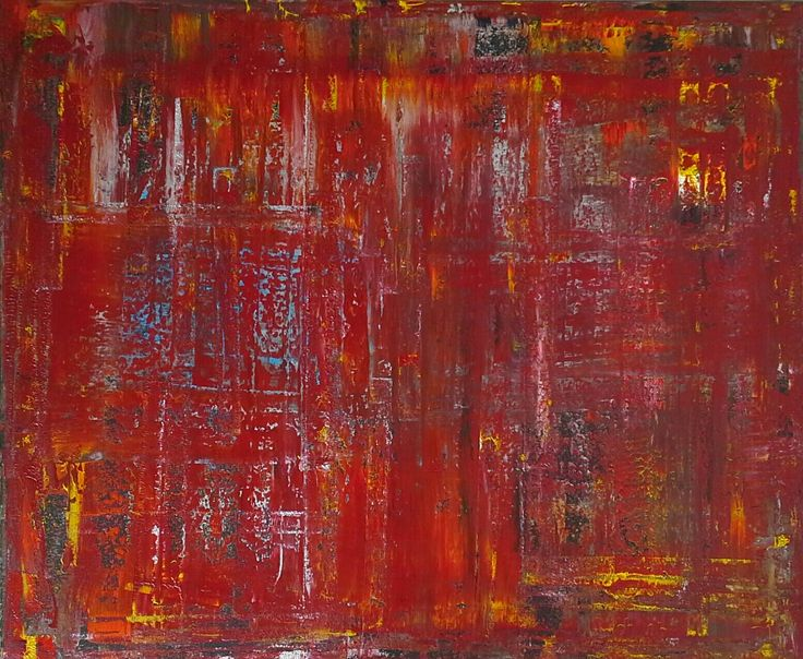Abstract art by Canadian artist Robert Martin Abstracts. Emerge 39x47x1.5in. Bali collection #2 acrylic on canvas. Year 2017.