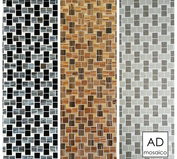 Decoro INTRECCIO Mosaico 20x20 e 10x10 mm  info@admosaico.com