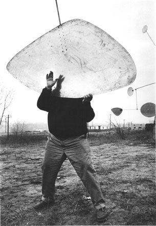 Alexander Calder by Ugo Mulas, 1963