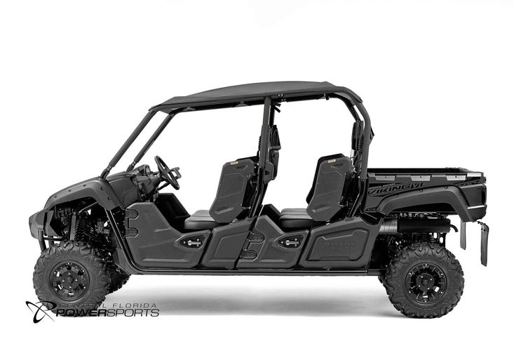 New 2016 Yamaha Viking VI EPS Special Edition ATVs For Sale in Florida. 2016 Yamaha Viking VI EPS Special Edition, With a sleek Carbon Metallic color scheme, the Viking VI SE adds good looks to its class-leading passenger comfort and off-road capability. Room for Six Torquey 700-Class Engine High Volume Intake Responsive and Reliable Ultramatic® Transmission On-Command® 4WD Roomy Cabin and Cargo Capacity Special Edition Features Come to Central Florida PowerSports, your favorite New and…