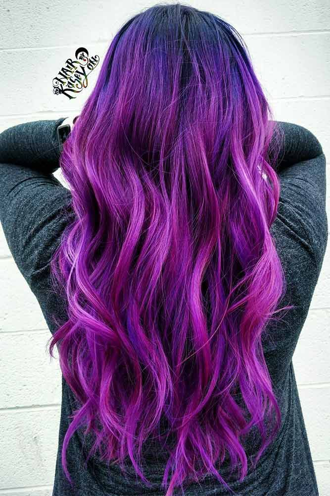 purple in hair styles 3184 best hairstyles images on gorgeous hair 1948