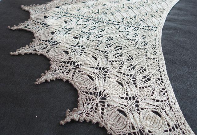 Ravelry: Vestland Shawl pattern by Anne-Lise Maigaard