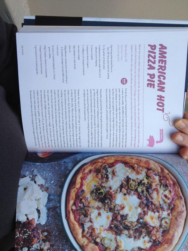 Jamie's Pizza Pie. Nice!!!!!