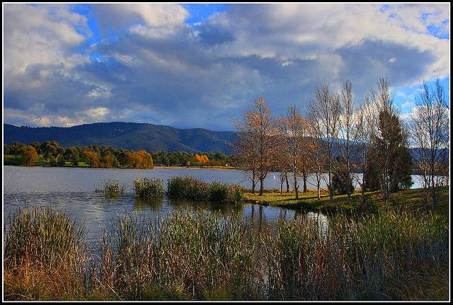 Lake Tuggeranong in Canberra