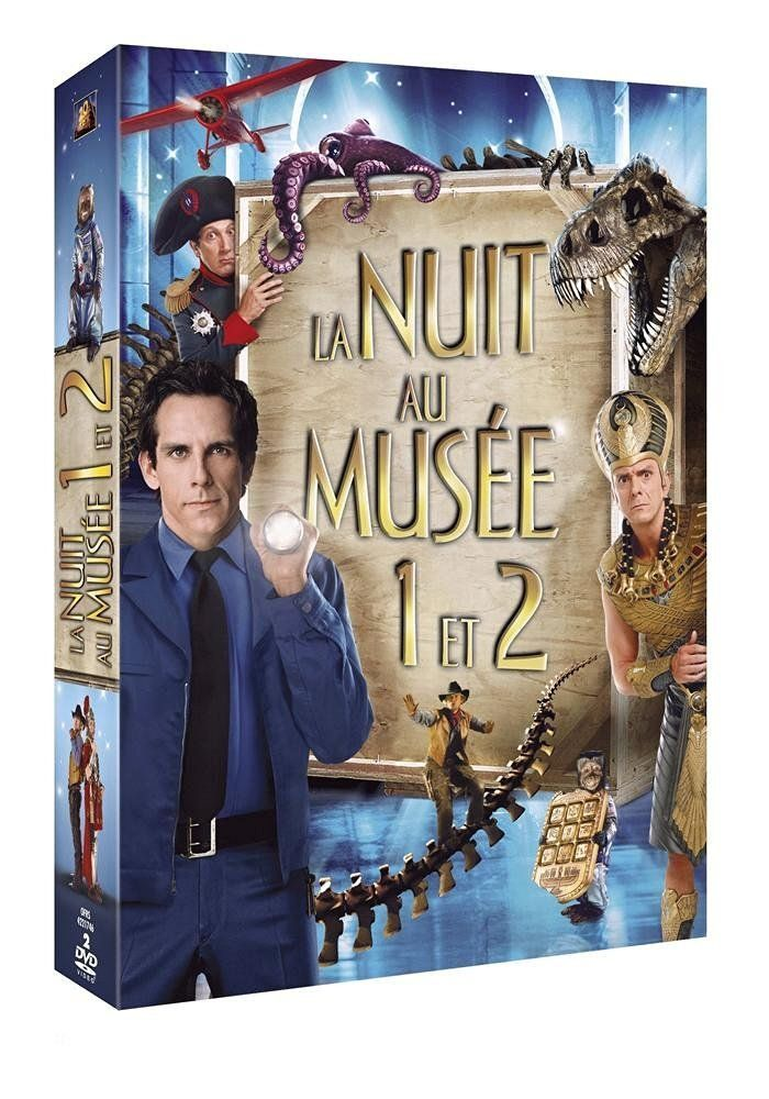 La Nuit au musée 1 & 2 [Pack 2 films]: Amazon.fr: Ben Stiller, Carla Gugino…