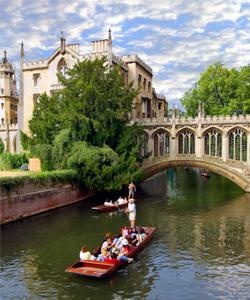 Cambridge Punting - one of the most fun things I have ever done......definitely have a go at punting yourself instead of hiring a boat with a punter
