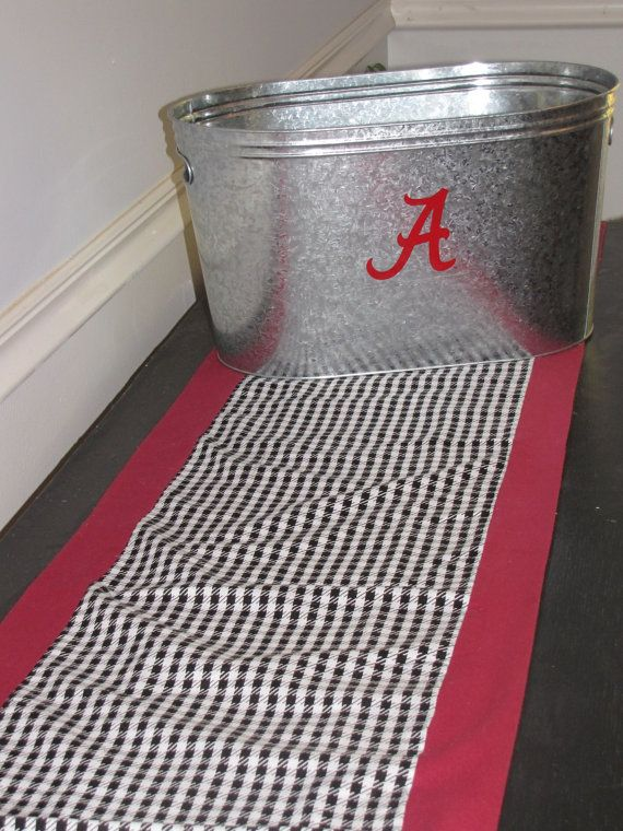 Alabama Table Runner via Etsy