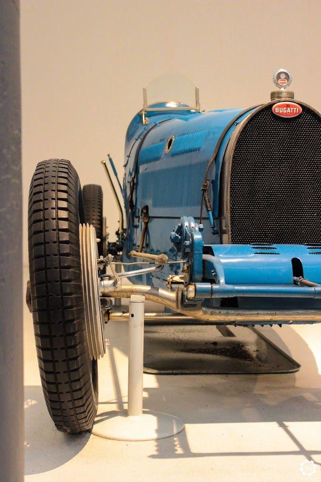#Bgatti #Type37A exposée à la #Cité de l'#Automobile, Collection #Schlumpf, de…