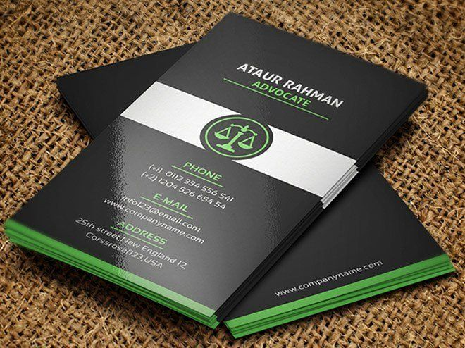Lawyer Business Card Template Inspirational Free Lawyer Business Card Template Freebie Lawyer Business Card Free Business Card Templates Business Card Template