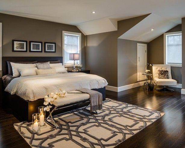 Mooie stijlvolle slaapkamer.