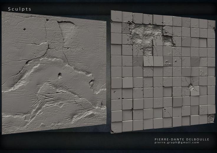 ArtStation - Tilable Textures Sheet, Pierre-Dante Delboulle