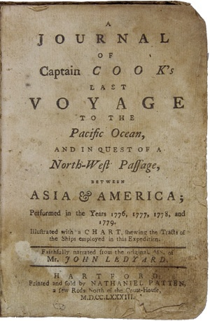 Copy of Captain Cook's last voyage to the Pacific...ca. 1783