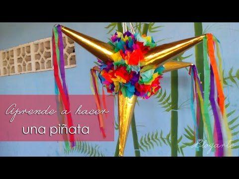 haz tu propia piñata facil y linda - YouTube