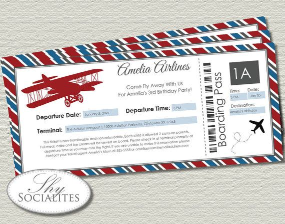 24 best images about airplane baby shower on pinterest | airplane, Baby shower invitations