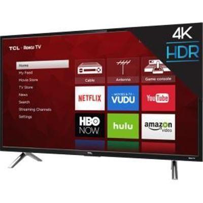 "49"" 4K UHD 120Hz Roku Smart TV"