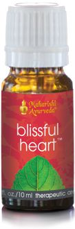 Blissful Heart Aroma Oil. Aromatherapy blend from vpk, by Maharishi Ayurveda.