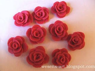How to make Marzipan Roses!  But it also works with Marshmallow Fondant and also with Play Dough!!!