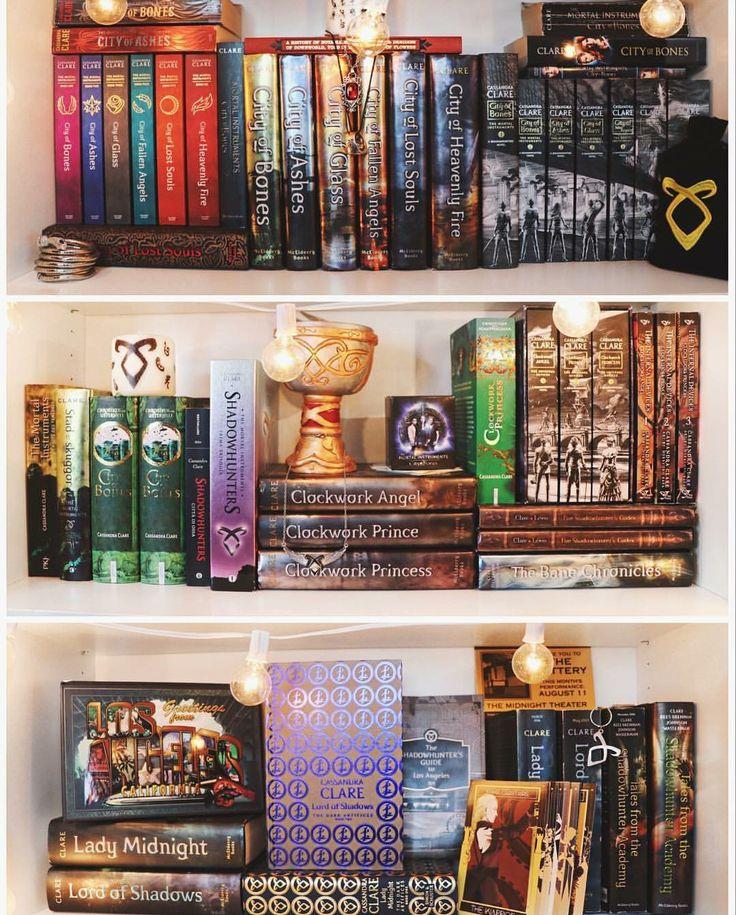 shadowhunters shelves by emmmabooks