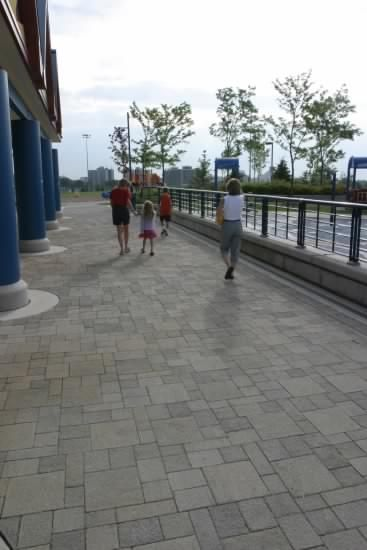 Unilock - Il Campo Paver installed at Waterpark in Mississauga