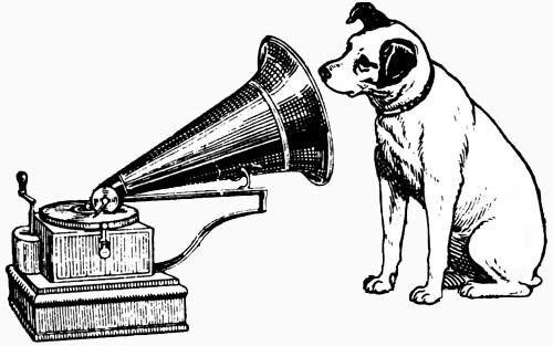 Hmv Record Label I His Masters Voice The Voice Record Label Logo