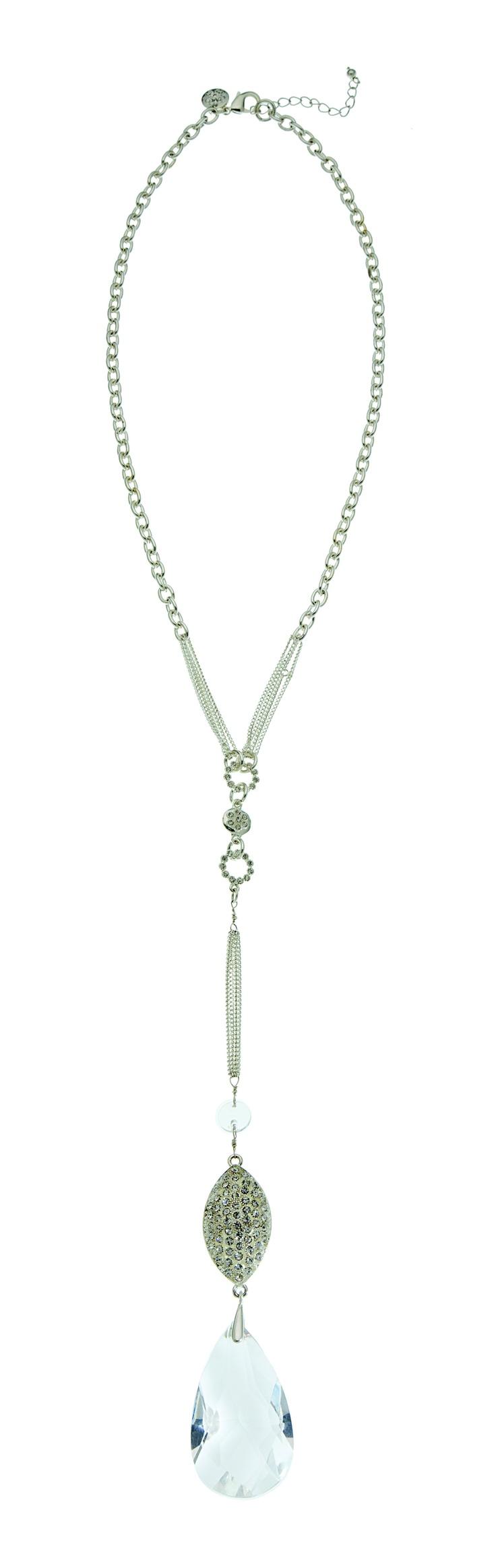 The Grace Adele Bauble Teardrop Necklace