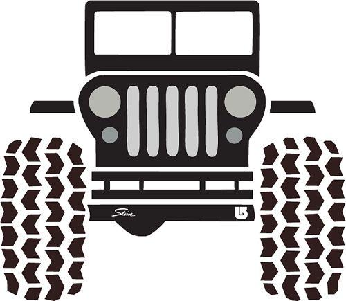 Jeep Logo Emblem Jeep Stencil Silhouette Jeepforum Com