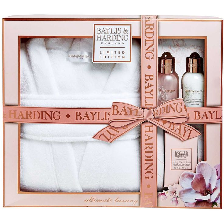 Bayliss & Harding Prosecco Dressing Gown Gift Set | Big W