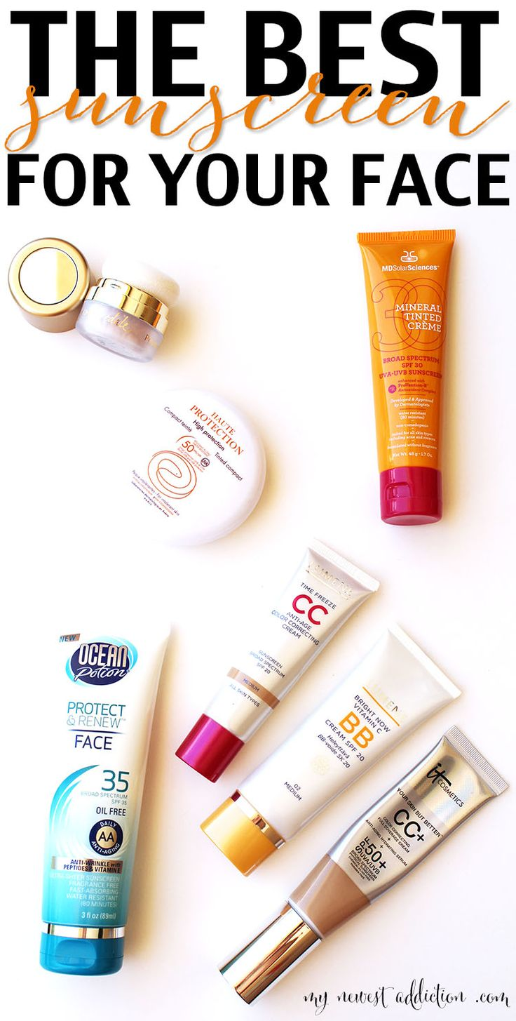 The Best Sunscreen For Your Face - My Newest Addiction Beauty Blog