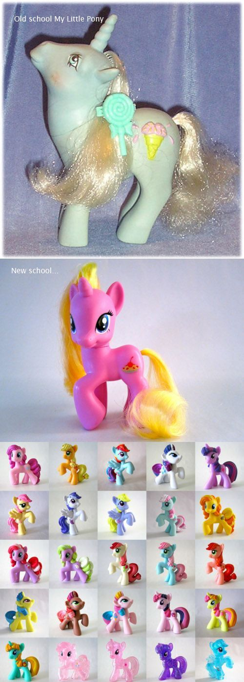 """Okay...Seriously. How much damn bigger do they need to make the eyes? And CURVES? Seriously? Ponies with more curves? I believe it's slightly """"REdonkUlous""""."""