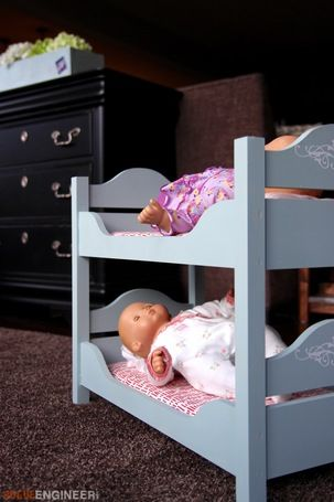 DIY Doll Beds! Great DIY project idea the kids will love. Check it out on Ryobi Nation