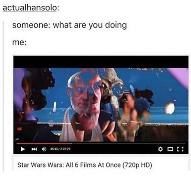 Star Wars: All 6 Films At Once