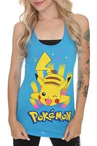 Pikachu turquoise tank at Hot Topic.  Is it sad that I'm 30 and totally want this?