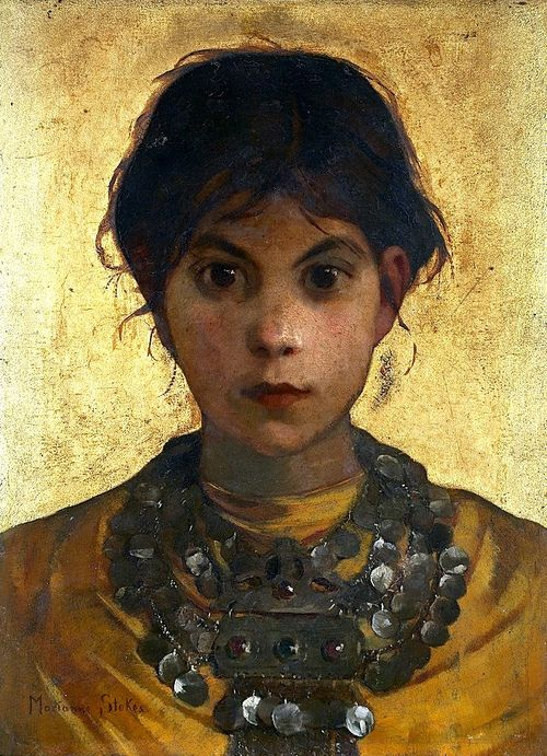 Marianne Preindelsberger Stokes, A Capri Witch, 1884-85