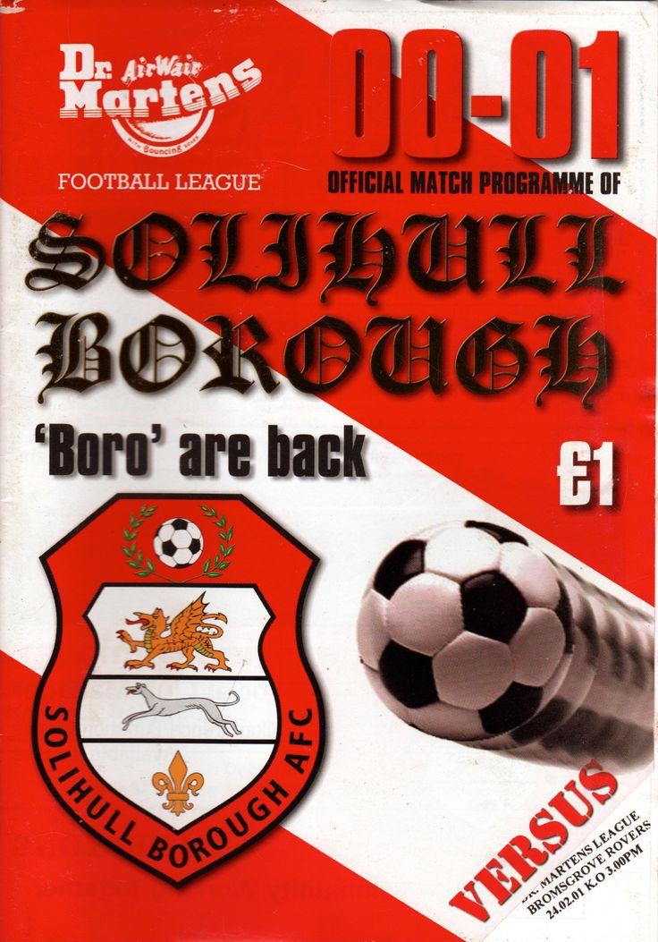 Solihull Moors FC in Solihull, Solihull