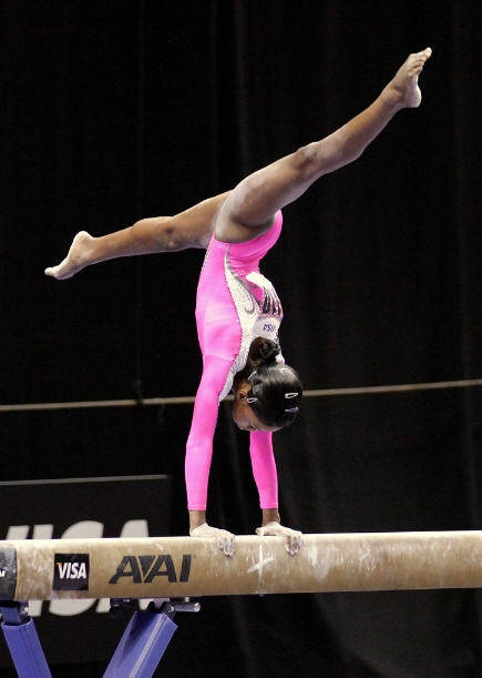 gymnastics pictures   Photo of gymnast and Olympic hopeful Gabrielle Douglas
