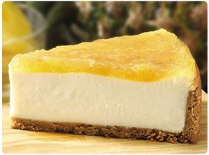 Incredibly Easy No Bake Pineapple Cheesecake