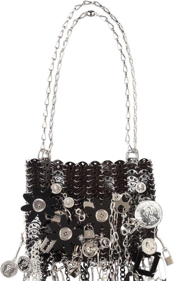 Le 69 Iconic Pitch Black Shoulder Bag