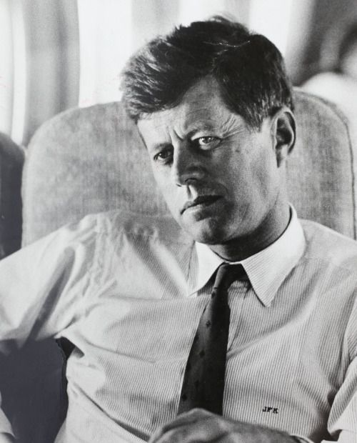John F. Kennedy-was an American politician who served as the 35th President of the United States from January 1961 until his assassination in November 1963.grew up in a wealthy and powerful political family in Brookline, Massachusetts.