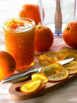 Confiture d'oranges
