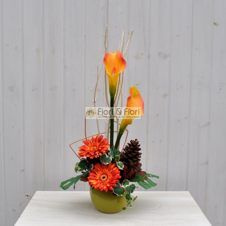 Composizione fiori artificiali Maritè per ambienti | Fiori & Fiori