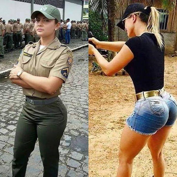 военные в попку безумно хотелось