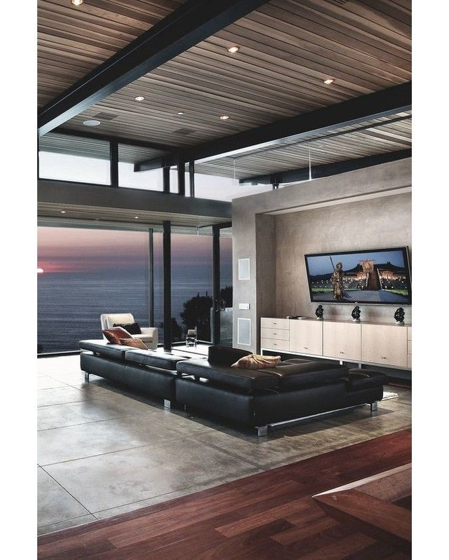 U201cModern Living Room With Ocean View, By C.Ware, Inc. Part 85