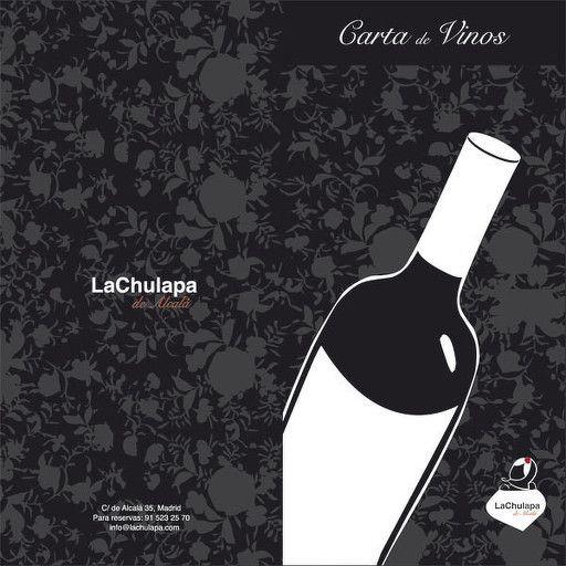 Diseño de la carta de vinos del restaurante