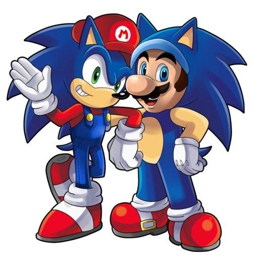 Sonic & Mario--Really?!   That's KA-RAY-ZEE!!!