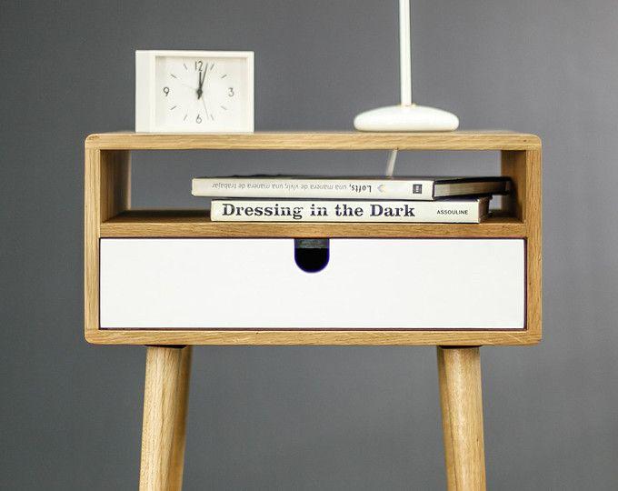 Best White Nightstand Bedside Table Scandinavian Mid Century 400 x 300
