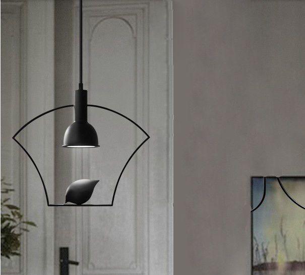 European Simple LED Black Alloy+Iron Bedroom Decoration Droplight Pendant Light! in Home & Garden, Lighting, Fans, Chandeliers & Ceiling Fixtures | eBay!