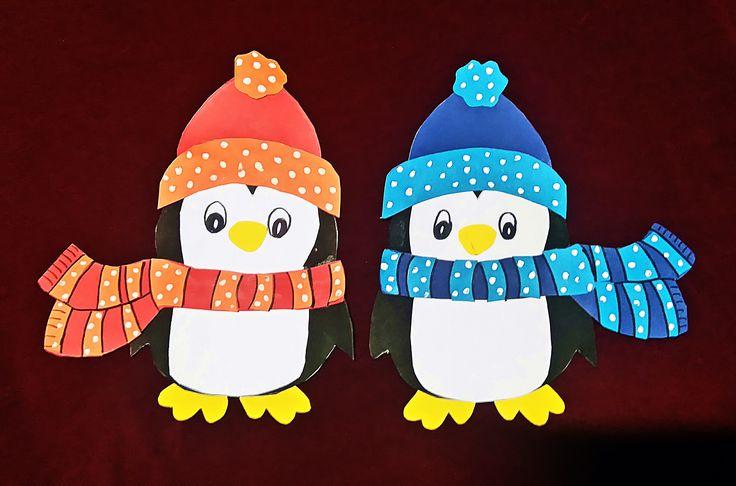 Pingvinek papírból