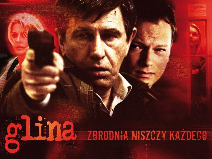 """Plakat do serialu telewizyjnego """"Glina"""" w reżyserii Władysława Pasikowskiego. Projekt: Studio Zakład, www.zaklad.pl"""